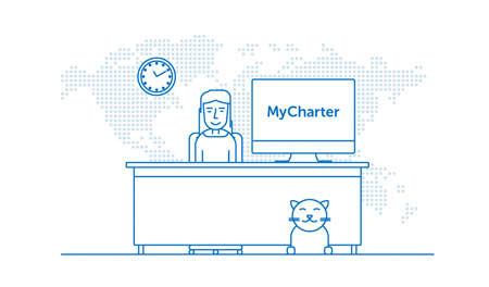 Charter sales system