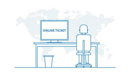 Online ticket