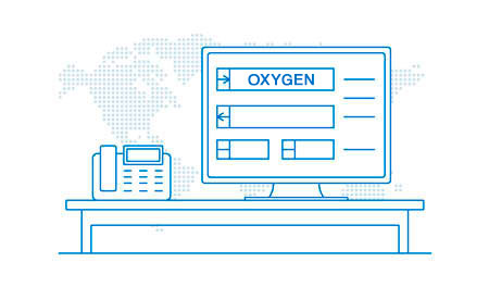 On-line booking system Oxygen